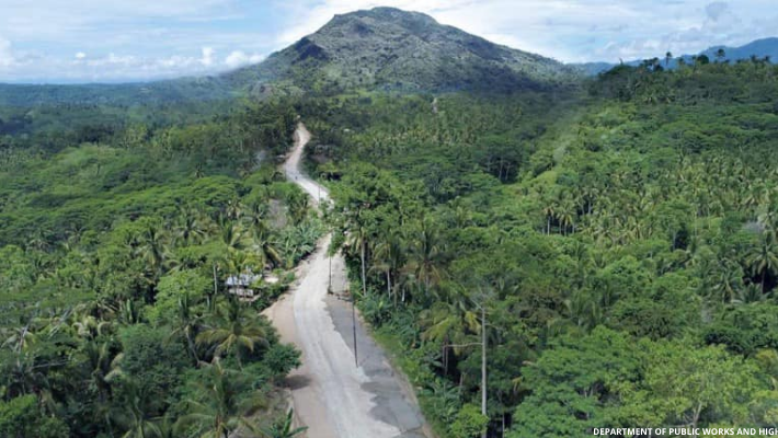 dpwh-completed-road-to-mt-mayapay-butuan
