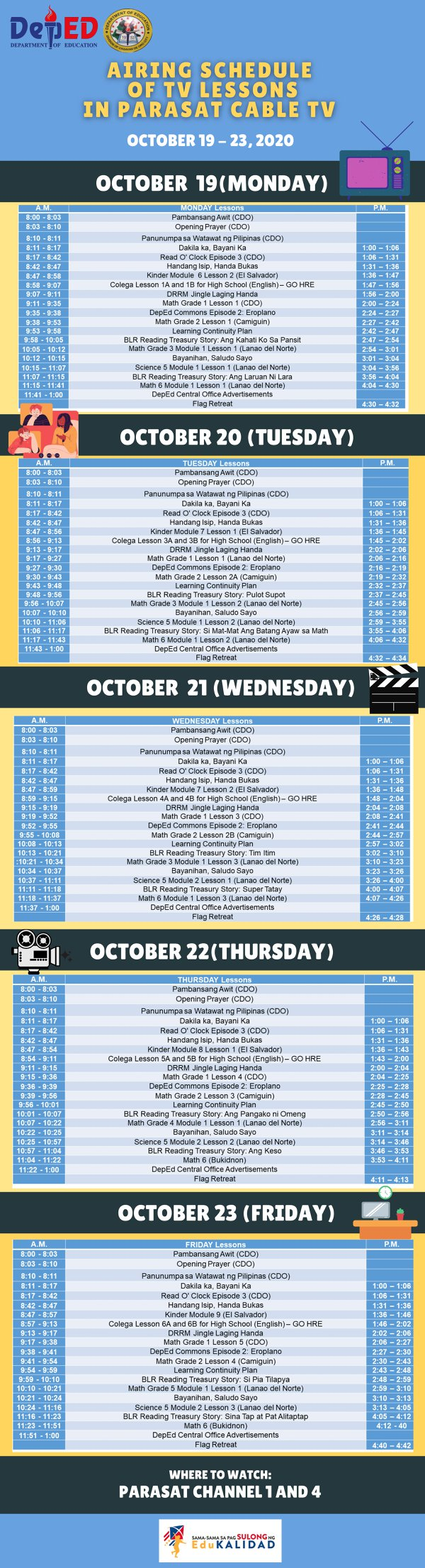 parasat-cable-sched-3rd-week