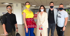 catriona gray colombia trip for miss universe colombia 2020