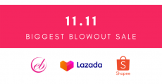 Ever Bilena November 11 Biggest Blowout Sale on Lazada and Shopee 11.11