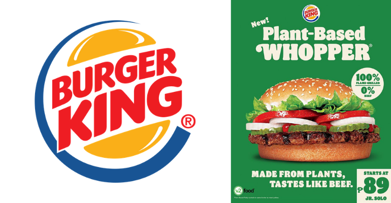 Plant-Based Whopper Burger King Philippines