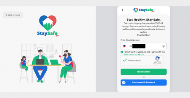 staysafe-registration