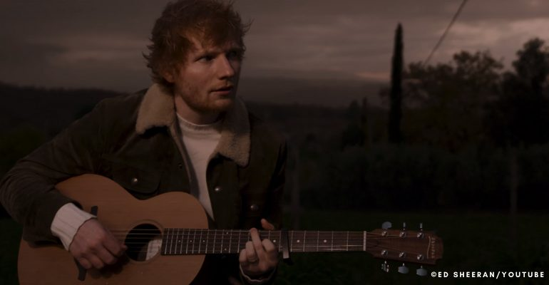 Ed Sheeran surprises fans with new track Afterglow