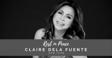 OPM icon, Claire dela Fuente, passes away at age 62