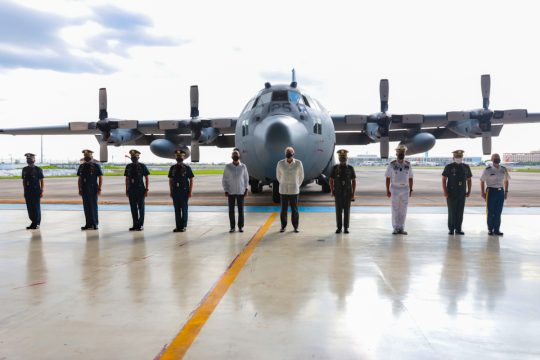02 19 2021 PR U.S. Military Turns Over C 130 Hercules Aircraft to Philippine Air Force